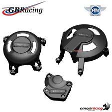 GBRacing Motordeckel Set Engine Cover Kit Daytona 675 2006-2010