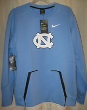 $125 North Carolina UNC Nike Therma-Fit crew neck sweatshirt, L Large NWT jordan