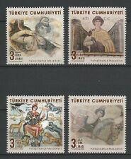 Turkey 2020 Art Religion Icon 4 MNH stamps
