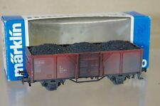 MARKLIN MäRKLIN 4431 WEATHERED DB STEEL SIDED OFFNER GÜTERWAGEN WAGON 381-9 ne
