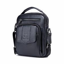 Men's Genuine Leather Messenger Shoulder Bag Crossbody Handbag Business Bag