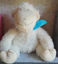 Adorable Doudou Peluche mouton Sifcon International 30 cm assis
