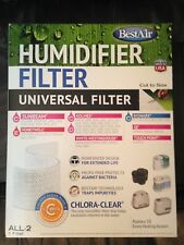 Best Air Universal Humidifier Filter Cut to size ALL-2 - Brand New In Box, fits+