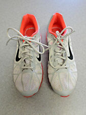 """2011 Nike """"Air Max +"""" Gray and Hot Pink Lightweight Running Shoes. Size 10"""