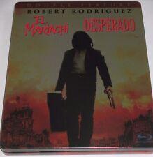 El Mariachi + Desperado - Blu-ray/Antonio Banderas/Salma Hayek/Steelbook/FSK 18