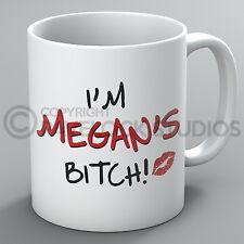 Personalised Any Name Bitch Mug Husband Boyfriend Rude Funny Joke Coffee Gift