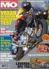 MO0104 + Vergleich VOXAN Café Racer 1000 vs. BMW R 1150 R und andere + MO 4/2001