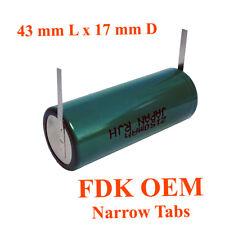 Oral-B Triumph Professional Care Cepillo De Dientes Reparación De La Batería, FDK OEM 43mmLx17mmD
