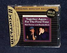 MFSL CD SEALED MEL TORME AND BUDDY RICH - TOGETHER AGAIN -MOBILE FIDELITY - MOFI