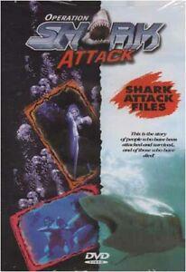 OPERATION SHARK ATTACK -  SHARK ATTACK FILES (DVD)