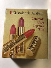 Elizabeth Arden CERAMIDE Ultra Lipstick Trio SEALED Watermelon Petal Coral SEALE