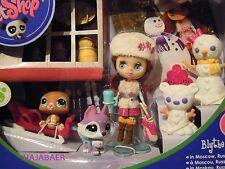 Littlest Pet Shop ✿ Husky 2109 oso 2110 Blythe b24 ✿ moscú Moscow ✿ nuevo embalaje original rar