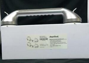 AmeriLuck 16.5in Suction Bath Grab Bar with Indicators, Balance Assit Bathroom S