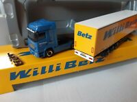 Actros 1855  Nr.00001 Blue Edition   Willi Betz  33333  Schmitz Tautliner