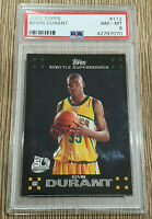 2007-08 Topps Black Kevin Durant Rookie RC Card #112 🏀🔥 Supersonics