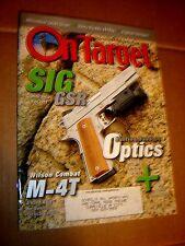 ON TARGET September 2004 Gun and Firearms Literature Catalog