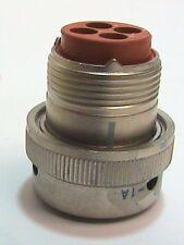 Deutsch Connector Plug NB6GE14-4PWT / 7619E, 38180-14-4PW-1A NASA Spare NOS