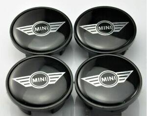 4x Mini Cooper Wing Caps Wheel Center Hub Cap Car Logo 54mm
