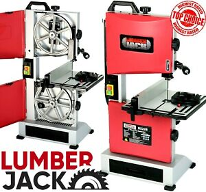 """Lumberjack 9"""" Bench Top Woodworking Bandsaw Cast Table Wood Cutting Blade 240v"""