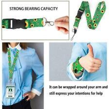 Sunflower Lanyards Cute Neck Strap ID Card Holder Lanyard For Keys Hanger K6N2