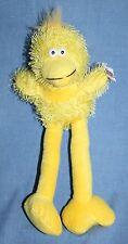 "EASTER DUCK CHICK 12"" Joissu Yellow Plush Long Leg Bird Stringy Stuffed Soft Toy"