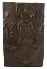 Porte de Grenier Senoufo 59x38 cm Art africain-Afrique Ouest Dogon 16516
