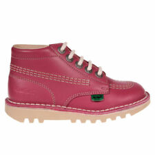 Scarpe in pelle rosa per bimbi