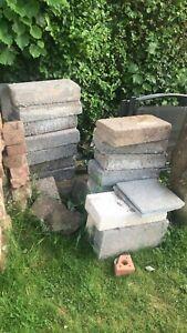 15 x Medium Dence and 2 concrete Breeze Blocks