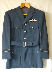 Genuine RAF Flight Lieutenant officers uniform both in excellent condition.