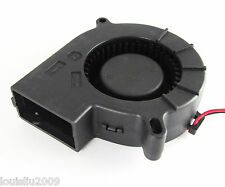 1Pcs Brushless DC Cooling Blower Fan 7525 12V 75mmx25mm 2 pin connectors
