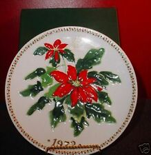 Crown Staffordshire Collectible Plate/Christmas1972 MIB