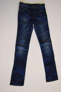 Levis 610 Jeans Hose Dunkelblau Stonewashed  W26 L34