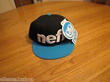 Men's Neff head wear hat cap blue black surf skate NEW RARE one size fits most