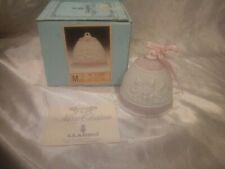Rare Vintage 1987 Lladro Christmas Bell 1St Annual Christmas Ornament #5458