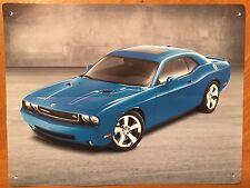 Tin Sign Vintage Dodge Challenger