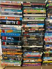 Huge Wholesale Lot of 100 Mixed Dvds - Includes Sets and Series, Marvel, Disney