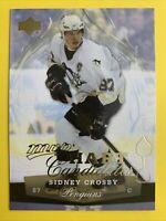 2007-08 Upper Deck MVP Hart Candidates #HC2 Sidney Crosby Pittsburgh Penguins