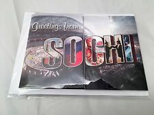 Sochi Winter Olympics 2014 Musical Greeting Card SEALED plays Olympic Theme RARE