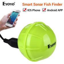 Eyoyo Smart Bluetooth 40M Depth Fish Finder Sonar Fishfinder For iOS & Android