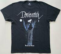 """DORNENREICH """"KREIS IST KRON"""" T-Shirt Eisregen Bethlehem Metal Gr.M GUTER ZUSTAND"""