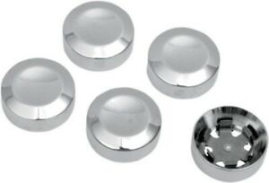 """Drag Specialties Rear 7/16"""" Pulley Hex Bolt Cover Chrome for Harley Davidson"""