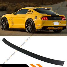 For 2015-17 Ford Mustang S550 GT Rear Window Roof Spoiler Wing- Unpainted Primer