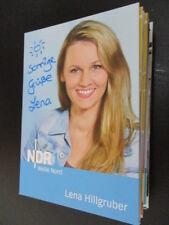 64972 Lena Hillgruber TV Musik Film original signierte Autogrammkarte