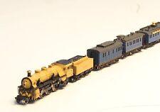 z-scale Complete RAILEX Marklin King Ludwig II 7 car brass set with Locomotive