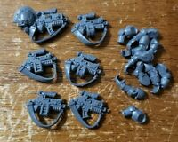 Warhammer 40k Space Marine Sternguard Veteran Bits:Engraved Bolters x6 w/Sgt Arm