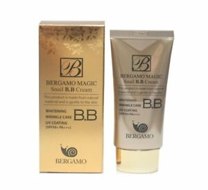 [Bergamo] Magic Snail BB Cream 50ml /Intense Care Wrinkle Care Sunblock /KOREA