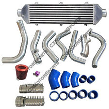 "CXRacing Intercooler Kit + 3"" Air Intake Pipe For 03 Mazdaspeed Protege 2nd Gen"