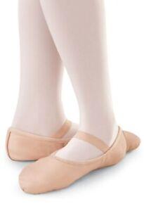Balera B40 Child Full Sole Leather Ballet Shoe in Pink