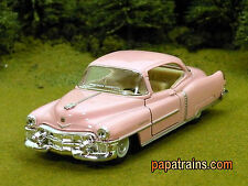 Elvis Pink Caddy ? 1953 Pink 53 Cadillac O Scale 1:43 by Kinsmart 53 Caddy