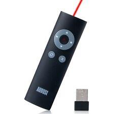 August LP200B - Wireless USB Presenter mit rotem Laserpointer + Zubehör